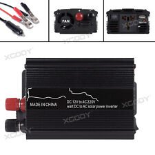 3000W Inversor de Corriente Convertidor DC12V TO AC220V Power Inverter USB Port