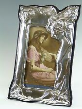 "Sterling Silver - EDWARDIAN Style Photo / Picture FRAME - 9"" Tall - SF120"