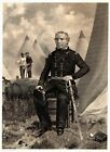 Atq. Steel Engraving Print ZACHARY TAYLOR, at the Period of Commanding in Mexico