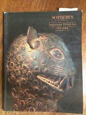 Sotheby's Catalogue Tribal Art New York 1992
