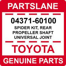 04371-60100 Toyota OEM Genuine SPIDER KIT, REAR PROPELLER SHAFT UNIVERSAL JOINT