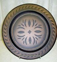 Decorative Folk Art Wooden Plate