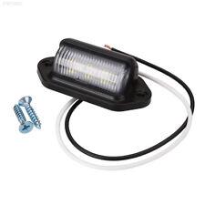 10-30V Bright 6 LED Number License Plate Light Automotive Trailer Truck