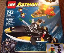 Lego BATMAN 7885 Robins Scuba Jet: Attack Of The Penguin-NEW SEALED RARE!