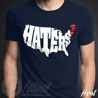 HATERS T-Shirt Football Pats Fan Tom Brady Gronk Jersey Shirt Funny