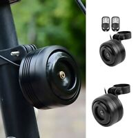 Bicycle Electronic Bell With Alarm USB Charging Cycling Horns Bike Handlebar