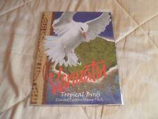 VANUATU TROPICAL BIRDS PRESENTATION PACK 2001