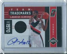 LaMarcus Aldridge 2011-12 Limited *Autograph jersey* NBA #30/49