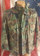 Brandit Vintage Da Uomo Militare Esercito Combattimento M65 SHORT LUCE Field Jacket Parka