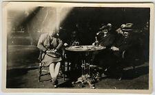 PHOTO ANCIENNE - PHOTO RATÉE BISTROT CAFÉ TABLE - ERROR FAILED -Vintage Snapshot