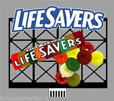 Miller's O/O27 Lifesavers Animated Neon Sign  #88-0851