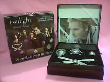 Twilight Limited Edition Official Complete Cullen Crest Jewelry Set