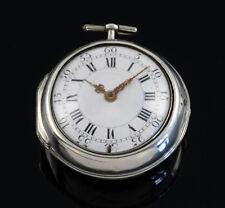 Barok Spindeluhr Thuillier & Terrot Genf Schweiz bis 1750 verge fusee montre coq