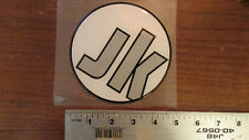 Jackson Kayaks Thick Gel Round logo Sticker Decal