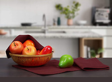 Cote De Amor 18 Pack Kitchen Dish Cloths 100% Cotton 12x12 Absorbent Durable Was