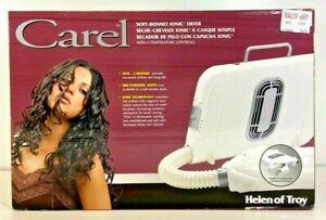 Carel Soft Bonnet Ionic Tabletop Portable Hair Dryer Helen Of Troy 61501NTV2 NEW