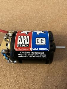 Vitage Tamiya Euro Stock 1990's Racing Team Orion 540 Motor Excellent Condition