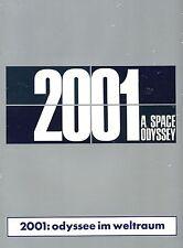 Souvenirprogramm  | 2001 - ODYSSEE IM WELTRAUM | Original 1968 | Stanley Kubrick