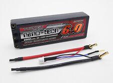 New Turnigy nano-tech 6000mAh 2S 7.4v 65C 130C Battery Lipo Pack Hardcase USA