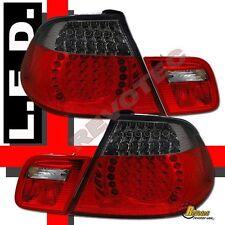 2000-2003 BMW E46 Convertible 325Ci 330Ci 323Ci Red Smoke LED Tail Lights