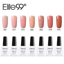 Elite99 Semi Permanent UV LED Gel Soak Off Nail Art Gel Polish 7pcs Kit Manicure
