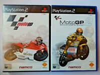 MotoGP 1 / 2 (Sony PlayStation 2, PAL, PS2, Game, Manual, Racing, Namco)