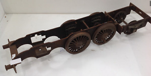 A scale model railway steam engine chassis 67cm long