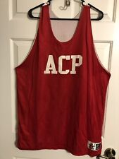 Alleson Athlete Brand Tank Top-Size 2Xl-Red/White -Reversible-Athletic Wear