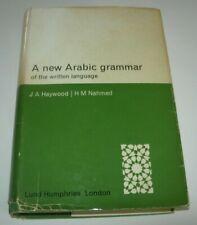 A New Arabic Grammar of the Written Language J A Haywood H M Nahmad 1962 1st EDT