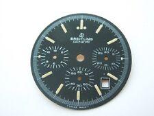 "Original NOS Vintage Breitling ""Black 3 dial, Chrono-Matic"" Dial, from an estate"