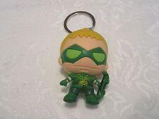Loose Monogram Figural DC Comics Series 3 Green Arrow Keyring Key Chain