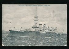 Navy France Shipping BOUVINES Battleship c1900/10s? PPC Gale & Polden