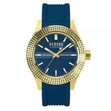 Versus by Versace SOT120015 Blue and Gold rubber band Watch