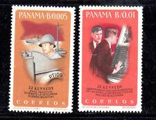 PANAMA #461-461A  1965  JFK & PT109;  SPACE CAPSULE     MINT VF NH O.G