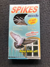 NEW Bird-X Plastic Polycarbonate BIRD SPIKES Kit Pigeons Covers 10 Feet