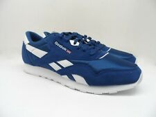 Reebok Men's CLASSIC NYLON Athletic Casual Shoe CN3267 Bunker Blue 12M