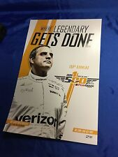 Indy 500 2016 100th Running PROMO POSTER Juan Pablo Montoya NEW MINT