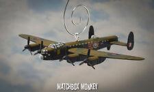WWII Bomber Avro Lancaster RAF Ad Extremum Aircraft Christmas Ornament plane