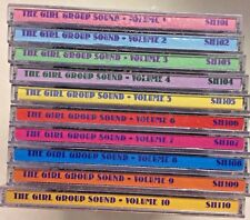 HARD TO FIND The Girl Group Sound 10 CDs  Darlings of the '60's Sha-Boom Records