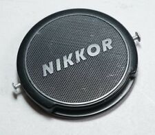 Original Nikon Camera Nikkor 52mm Vintage Lens Cap