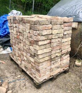 756 Backsteine Ziegelsteine Mauerziegel Vollziegel, gebraucht