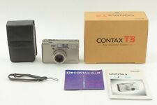 [MINT in BOX] Contax T3 35mm Point & Shoot Film Camera single T From JAPAN #1192