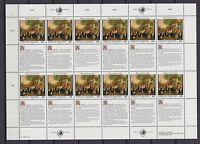 UNO Wien 1993 postfrisch MiNr. 150-151  Bogensatz  Menschenrechte