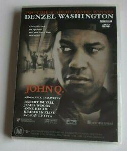 John Q Denzel Washington PAL DVD R4 NEW SEALED
