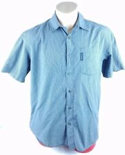 Columbia Casual Shirt Square Pattern Multiple Colors Vintage Large Size ✔