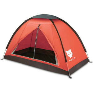 Single Person Tent Backpacking Lightweight Tents Hiking Sun Shelter Waterproof