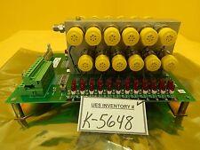 Asm 03-320142D03 Ev Interface Pneumatic Block Pcb Assembly Asm Epsilon 3000 Used