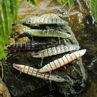 Lure Fishing Bait Crankbaits Hook Minnow Baits Tackle Fishing Crank Kit X2D4