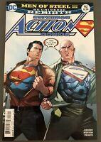 DC Comics Rebirth Action Comics #967  Superman Lex Luthor Men Of Steel 2016 NM
