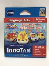 Vtech InnoTab Software Language Arts Busy Day In Alphabet Town 2-5 years, Pre-K